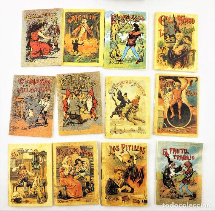 Libros de segunda mano: LOS CUENTOS DE CALLEJA Cuentos de magos y duendes - Foto 2 - 235896280