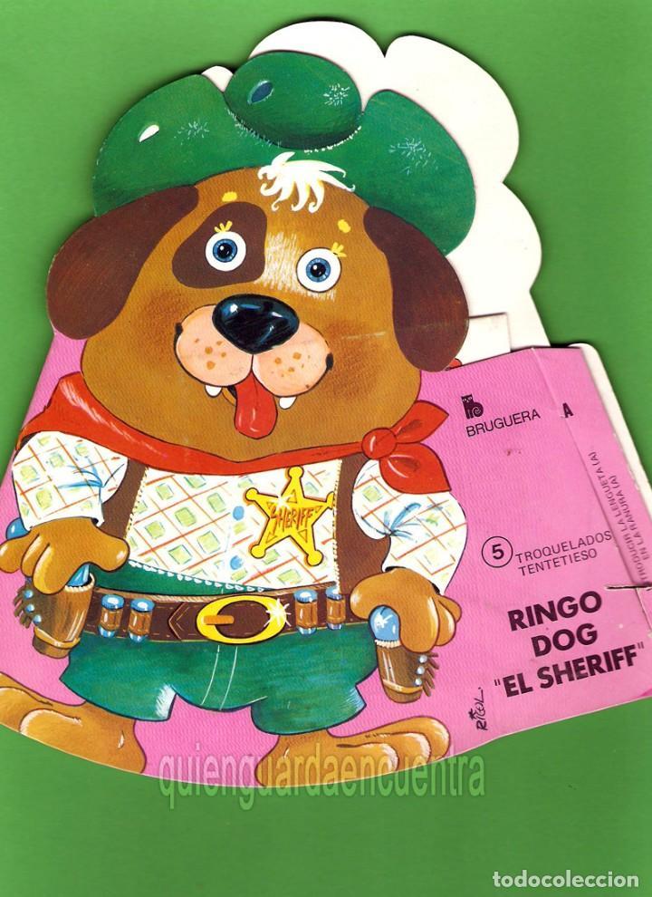 CUENTO TROQUELADO TENTETIESO DE BRUGUERA 1981-Nº5 RINGO DOG (Libros de Segunda Mano - Literatura Infantil y Juvenil - Cuentos)