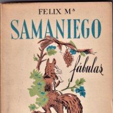 Libros de segunda mano: FELIZ MARIA SAMANIEGO - FABULAS - ED FAMA 1955. Lote 235941595