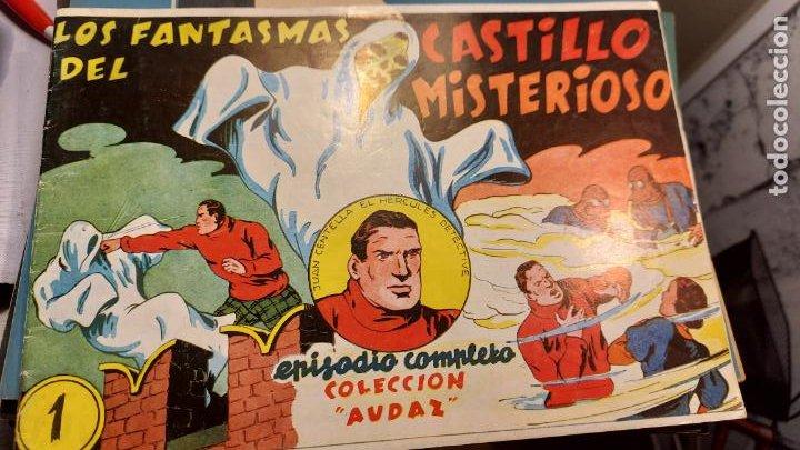LOS FANTASMAS DEL CASTILLO MISTERIOSO DE COLECCION AUDAZ (Libros de Segunda Mano - Literatura Infantil y Juvenil - Cuentos)