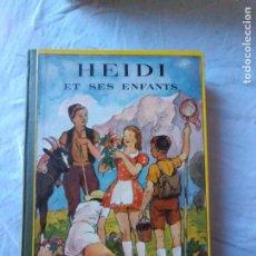 Libros de segunda mano: HEIDE ET SES ENFANTS JOHANNA SPYRI 1939,FLAMMARION PARIS, FRANCÉS. Lote 236297150
