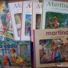 Libros de segunda mano: LOTE DE LIBROS MARTINA DE GILBERT DELAHAYE Y MARCEL MARLIER, LIBRO PUZZLE, LIBRO CASA, LIBRO PEGATIN. Lote 236729730