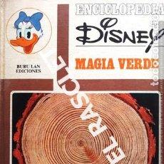 Libros de segunda mano: ENCICLOPEDIA DISNEY - MAGIA VERDE - BURULAN EDICIONES. Lote 236782580