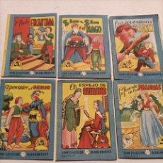 Libros de segunda mano: LOTE 1 GRAN COLECCIÓN BLANCANIEVES SERIE 1 TESORO DE CUENTOS. Lote 236965860