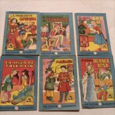 Libros de segunda mano: LOTE 2 GRAN COLECCIÓN BLANCANIEVES TESORO DE CUENTOS. Lote 236970855