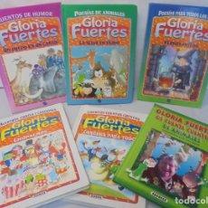 Libros de segunda mano: GLORIA FUERTES. 6 VOLUMENES. CANGURA PARA TODO. EL PULPO EN UN GARAJE. LA SELVA EN VERSO.. SUSAETA. Lote 237747540