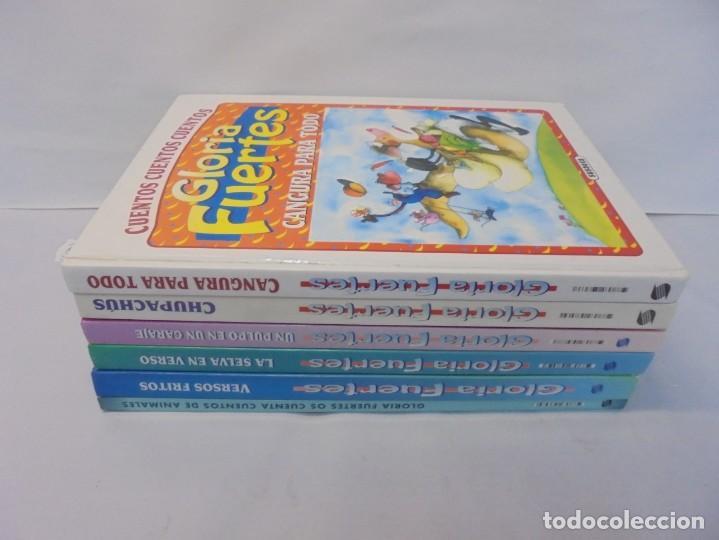 Libros de segunda mano: GLORIA FUERTES. 6 VOLUMENES. CANGURA PARA TODO. EL PULPO EN UN GARAJE. LA SELVA EN VERSO.. SUSAETA - Foto 2 - 237747540