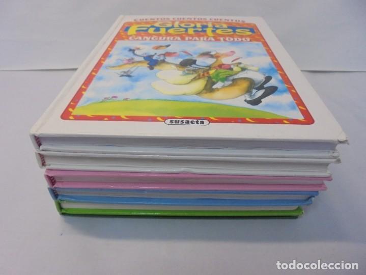 Libros de segunda mano: GLORIA FUERTES. 6 VOLUMENES. CANGURA PARA TODO. EL PULPO EN UN GARAJE. LA SELVA EN VERSO.. SUSAETA - Foto 3 - 237747540