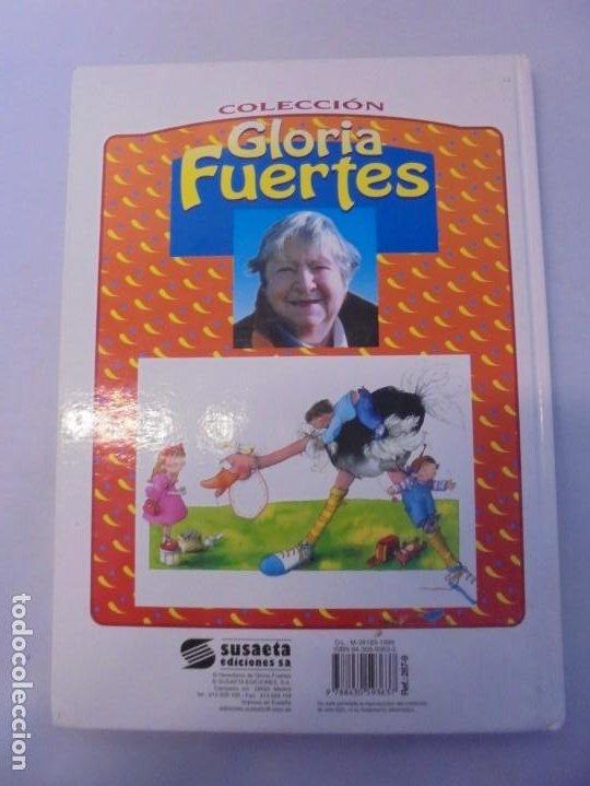 Libros de segunda mano: GLORIA FUERTES. 6 VOLUMENES. CANGURA PARA TODO. EL PULPO EN UN GARAJE. LA SELVA EN VERSO.. SUSAETA - Foto 12 - 237747540