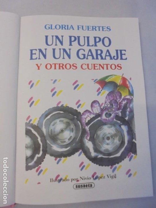 Libros de segunda mano: GLORIA FUERTES. 6 VOLUMENES. CANGURA PARA TODO. EL PULPO EN UN GARAJE. LA SELVA EN VERSO.. SUSAETA - Foto 20 - 237747540