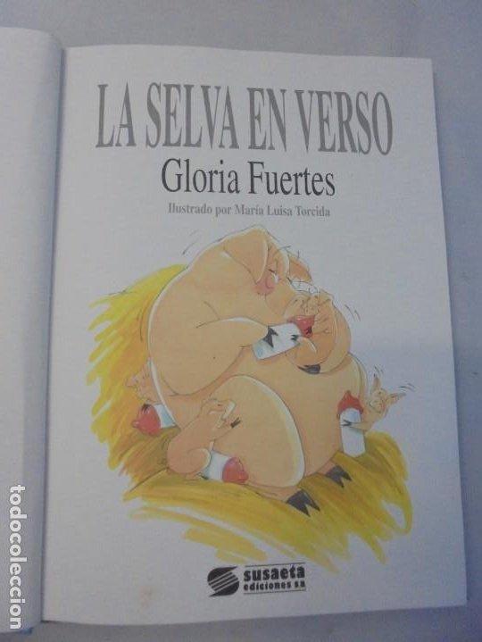 Libros de segunda mano: GLORIA FUERTES. 6 VOLUMENES. CANGURA PARA TODO. EL PULPO EN UN GARAJE. LA SELVA EN VERSO.. SUSAETA - Foto 26 - 237747540