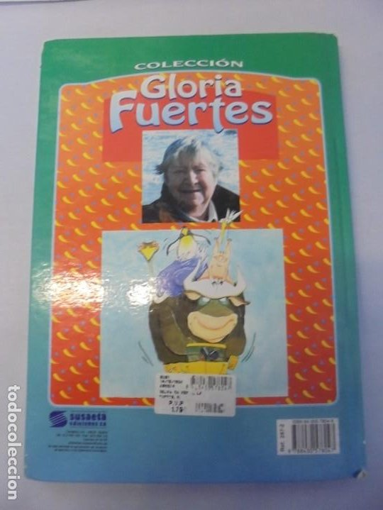 Libros de segunda mano: GLORIA FUERTES. 6 VOLUMENES. CANGURA PARA TODO. EL PULPO EN UN GARAJE. LA SELVA EN VERSO.. SUSAETA - Foto 30 - 237747540