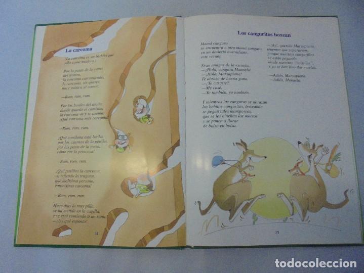 Libros de segunda mano: GLORIA FUERTES. 6 VOLUMENES. CANGURA PARA TODO. EL PULPO EN UN GARAJE. LA SELVA EN VERSO.. SUSAETA - Foto 42 - 237747540