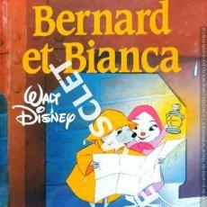 Libros de segunda mano: CUENTO INFANTIL - WALT DISNEY - BERNARD ET BIANCA - EDITADO EN FRANCÉS. Lote 237913340