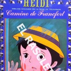 Libros de segunda mano: CUENTO INFANTIL - HEIDI - CAMINO DE FRANCFORT - Nº 5 -. Lote 237920225