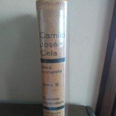 Libros de segunda mano: CAMILO JOSÉ CELA CUENTOS TOMO 2. Lote 237954640