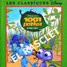 Libros de segunda mano: CUENTO INFANTIL - WALT DISNEY - 1001 PATTES- EDITADO EN FRANCÉS. Lote 238002490