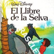 Libros de segunda mano: CUENTO INFANTIL - WALT DISNEY - EL LLIBRE DE LA SELVA - EDITADO EN CATALÁ,. Lote 238003525