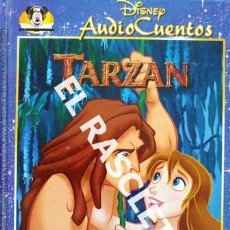 Libros de segunda mano: CUENTO INFANTIL - DISNEY AUTO CUENTOS - TARZAN - SIN DISCO. Lote 238009795