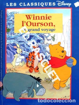 CUENTO INFANTIL - DISNEY -WINNIE L' OURSON, LE GRAN VOYAGE - EDITADO EN FRANCÉS (Libros de Segunda Mano - Literatura Infantil y Juvenil - Cuentos)