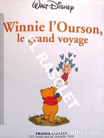 Libros de segunda mano: CUENTO INFANTIL - DISNEY -WINNIE L OURSON, LE GRAN VOYAGE - EDITADO EN FRANCÉS - Foto 2 - 238074845