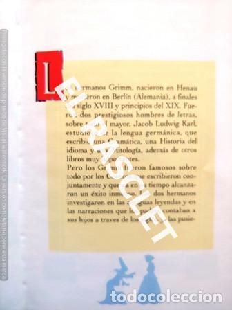 Libros de segunda mano: LOS CUENTOS DE LAS ESTRELLAS -BLANCANIEVES - LAS HILANDERAS - EDICIONES GLOBUS - Foto 3 - 238078285