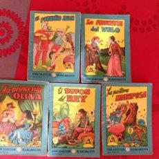 Libros de segunda mano: LOTE 3 GRAN COLECCIÓN BLANCANIEVES TESORO DE CUENTOS. Lote 238195890