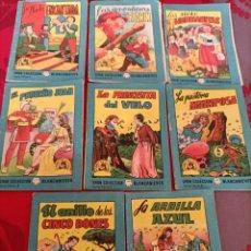 Libros de segunda mano: LOTE 7 GRAN COLECCIÓN BLANCANIEVES TESORO DE CUENTOS. Lote 238214485
