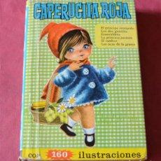 Libri di seconda mano: CAPERUCITA ROJA - COLECCION HEIDI - EDITORIAL BRUGUERA - 1966. Lote 238465740