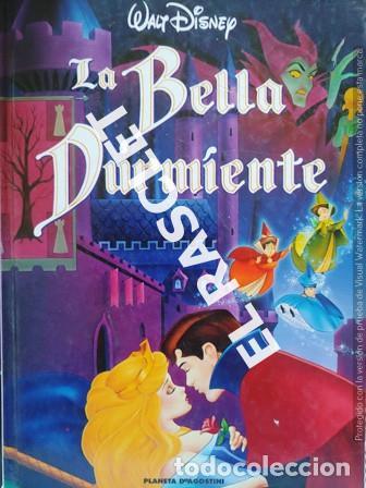 ANTIGÜO LIBRO - WALT DISNEY - LA BELLA DURMIENTE (Libros de Segunda Mano - Literatura Infantil y Juvenil - Cuentos)