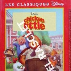 Libros de segunda mano: ANTIGÜO LIBRO - DISNEY - CHICKEN LITTLE - EDITADO EN FRANCÉS. Lote 238629930