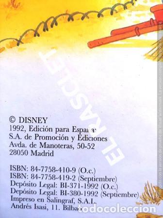 Libros de segunda mano: ANTIGÜO LIBRO - WALT DISNEY - UN CUENTO PARA CADA DIA - SEPTIEMBRE - Foto 3 - 238632810