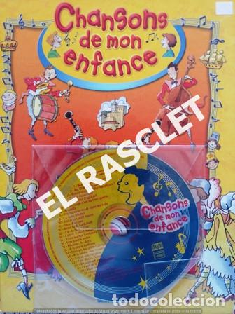 ANTIGÜO LIBRO - CHANSONS DE MON ENFANCE - CONTIENE CD - EDITADO EN FRANCÉS (Libros de Segunda Mano - Literatura Infantil y Juvenil - Cuentos)