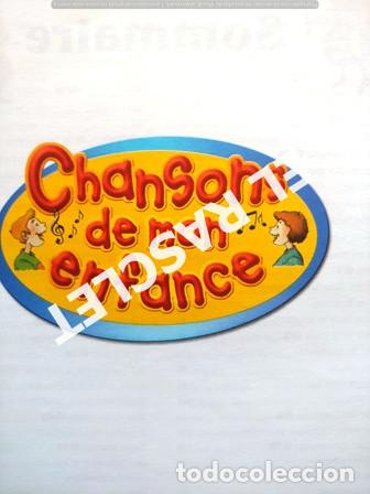 Libros de segunda mano: ANTIGÜO LIBRO - CHANSONS DE MON ENFANCE - CONTIENE CD - EDITADO EN FRANCÉS - Foto 3 - 238636615