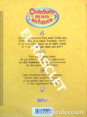 Libros de segunda mano: ANTIGÜO LIBRO - CHANSONS DE MON ENFANCE - CONTIENE CD - EDITADO EN FRANCÉS - Foto 4 - 238636615