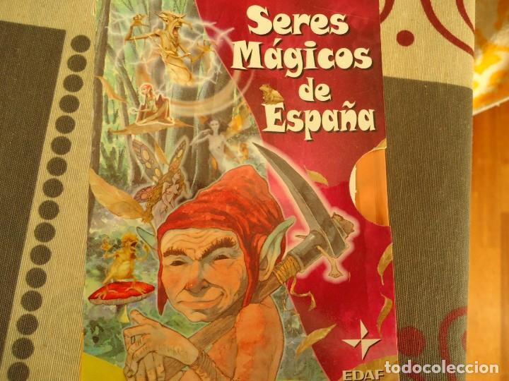 SERES MAGICOS DE ESPAÑA (Libros de Segunda Mano - Literatura Infantil y Juvenil - Cuentos)