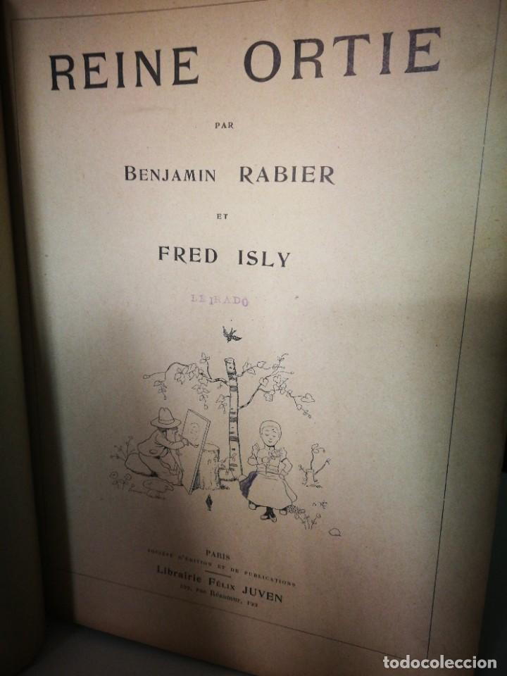 Libros de segunda mano: REINE ORTIE, CUENTO ESCRITO EN FRANCES - Foto 5 - 239953465