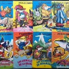 Libri di seconda mano: 8 CUENTOS DIFERENTES PARA PINTAR / COLECCION PINTEMOS / ED. TORAY 1977 / CARMELO GARMENDIA. Lote 240460180