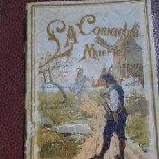 Libros de segunda mano: LIBRO ANTIGUO.LA COMADRE MUERTE..1893. Lote 240517220