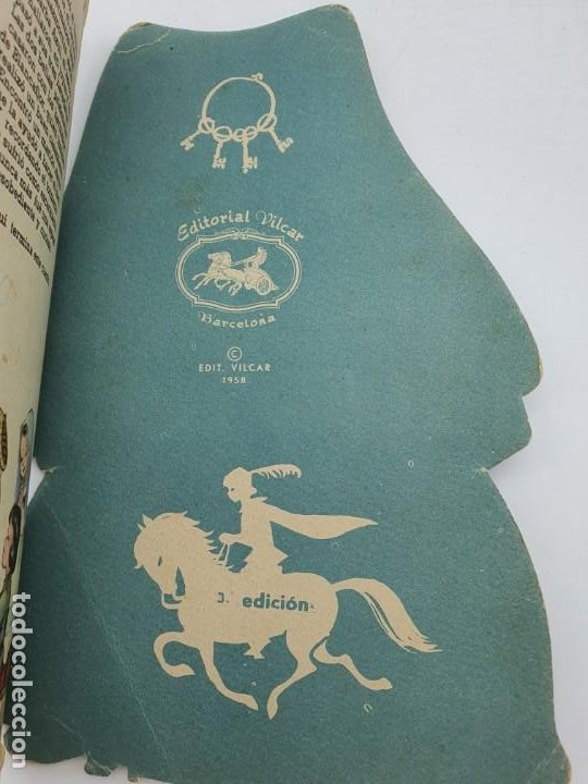 Libros de segunda mano: CUENTO BARBA AZUL ( PERRAULT ) ED. VILCAR, 1958 - 3º EDICIÓN ( VER FOTOS ) - Foto 7 - 241698790