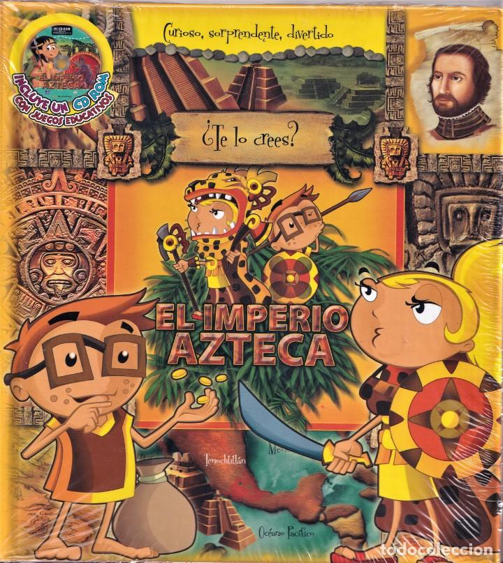EL IMPERIO AZTECA - COLECCIÓN ¿TE LO CREES?- NUEVO PRECINTADO (Libros de Segunda Mano - Literatura Infantil y Juvenil - Cuentos)