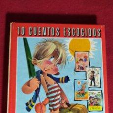 Libros de segunda mano: 10 CUENTOS ESCOGIDOS / SERIE COSMOS Nº 3. Lote 243497160