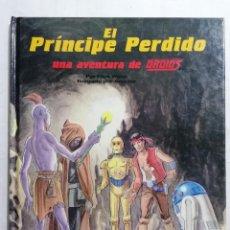 Libros de segunda mano: EL PRINCIPE PERDIDO, UNA AVENTURA DE DROIDS, EDICIONES PLAZA JOVEN. Lote 243593280