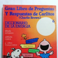Libros de segunda mano: GRAN LIBRO DE PREGUNTAS Y RESPUESTAS DE CARLITOS, EDITORIAL GRIJALBO. Lote 243594825