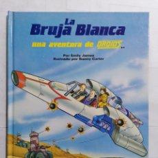 Libros de segunda mano: LA BRUJA BLANCA, UNA AVENTURA DE DROIDS, EDICIONES PLAZA JOVEN. Lote 243595155
