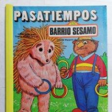 Libros de segunda mano: PASATIEMPOS BARRIO SESAMO, Nº 6, EDICIONES PARRAMON. Lote 243597515