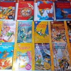 Libri di seconda mano: LOTE 16 LIBROS DE GERÓNIMO STILTON.EDITORIAL DESTINO.. Lote 244497550