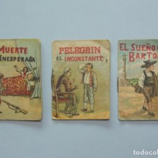 Libros de segunda mano: LOTE 3 MINI CUENTOS FORMATO PEQUEÑO - SERIE 1,3 Y 7 - EDITORES ROVIRA Y CHIQUÉS - BARCELONA ...L3397. Lote 244518950