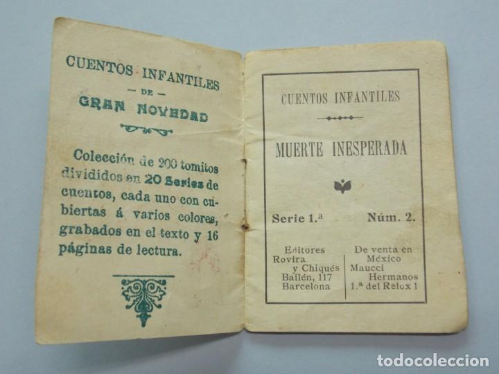 Libros de segunda mano: LOTE 3 MINI CUENTOS FORMATO PEQUEÑO - SERIE 1,3 Y 7 - EDITORES ROVIRA Y CHIQUÉS - BARCELONA ...L3397 - Foto 3 - 244518950
