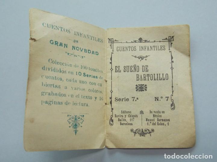 Libros de segunda mano: LOTE 3 MINI CUENTOS FORMATO PEQUEÑO - SERIE 1,3 Y 7 - EDITORES ROVIRA Y CHIQUÉS - BARCELONA ...L3397 - Foto 6 - 244518950